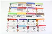 Sale 8835C - Lot 20 - A Large Collection of Royal Australian Mint Legends of the Anzacs Medals of Honour 2017 Coin Collection