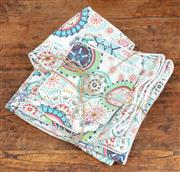 Sale 9060H - Lot 83 - A quantity of nine matching cotton cushions of various sizes and of good quality.