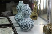 Sale 8308 - Lot 46 - Hongwu Style Gourd Vase
