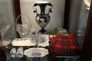 Sale 8288 - Lot 72 - Italian Ceramic Vase with Other Wares incl Scottish Tartan Kilt