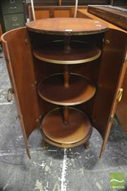 Sale 8326 - Lot 1081 - Timber Barrel Form Bar