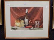 Sale 8358 - Lot 505 - Charles Bush (1919 - 1989) - Still Life 27 x 37cm
