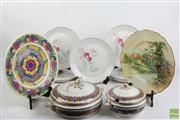 Sale 8490 - Lot 289 - Royal Doulton Cabinet Plates Together With Tureens And Other Plates