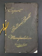 Sale 8539M - Lot 43 - Burling Hull, Expert Billiard Ball Manipulation: An Accurate and Comprehensive Technical Treatise on the Expert Manipulation of Min...