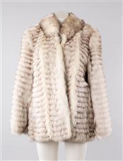 Sale 8740F - Lot 87 - A Saga Furs fox jacket, size 16
