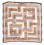 Sale 8800F - Lot 10 - An Oscar De La Renta silk neckerchief