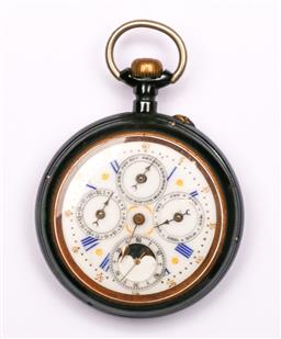 Sale 9104 - Lot 20 - An Acier Garanti Pocket FOB Watch