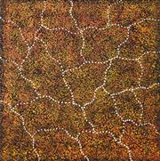 Sale 8297 - Lot 595 - Gracie Morton Pwerle (c1956 - ) - Bush Plum 60 x 60cm
