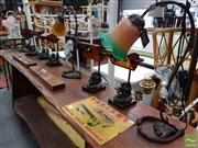 Sale 8469 - Lot 1085 - Collection of Eight Table Lamps