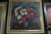Sale 8468 - Lot 2029 - Artist Unknown (Xx) Still Life, 1959, oil on board, signed and dated lower right