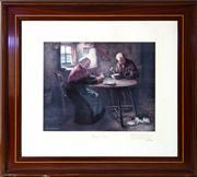 Sale 8575H - Lot 31 - After HJ Dobson ARCA - Burns Grace Frame size H: 75cm x W: 85cm