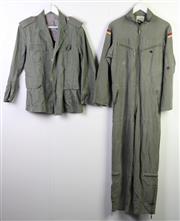 Sale 8952M - Lot 685 - Set Of Four German Military Uniforms Incl Parka And Jumpsuit