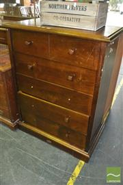 Sale 8383 - Lot 1337 - Pine 6 Drawer Chest