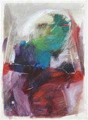 Sale 8410A - Lot 5023 - Anne Hall (1945 - ) - Untitled (Abstract Figure) 76.5 x 56cm (sheet size)
