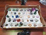 Sale 8455 - Lot 1048 - Box Polished Gemstones