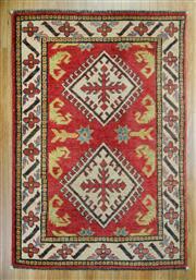 Sale 8643C - Lot 92 - Afghan Kazak 118cm x 80cm