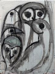 Sale 8656 - Lot 600 - Stephen Langdon - Boy and Birds 122 x 91,5cm
