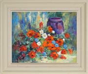 Sale 8853 - Lot 2098 - Thea Lokkers - Still Life 44 x 56.5cm