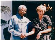Sale 8555A - Lot 5010 - Nelson Mandela with Princess Diana