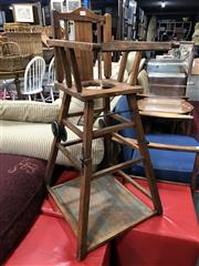 Sale 8817 - Lot 1024 - Victorian Metamorphic High Chair