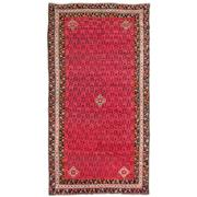Sale 8914C - Lot 39 - Persian Antique Afshar Rug C1940, 236x120cm, Handspun Wool