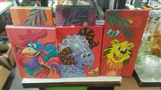 Sale 8433 - Lot 2077 - 13 Prints Depicting Childrens Animal Scenes