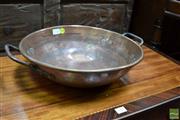 Sale 8460 - Lot 1018 - Round Copper Bowl