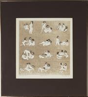 Sale 8896A - Lot 5061 - Paul Delprat (1942 - ) - Bathroom Series I, 1998 30 x 30 cm