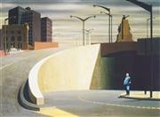 Sale 9042A - Lot 5026 - Jeffrey Smart (1921-2013) - Cahill Express Way, 1962 62 x 84 cm(frame: 86 x 107 x 2 cm)