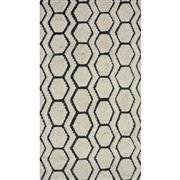 Sale 9082C - Lot 66 - India Hex Moroc Design Rug, 160x230cm, Handspun Wool