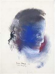 Sale 8410A - Lot 5024 - Anne Hall (1945 - ) - Mrs Murphy, 1967 76.5 x 56cm (sheet size)