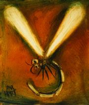 Sale 8467 - Lot 557 - Kevin Charles (Pro) Hart (1928 - 2006) - Dragonfly 59 x 49cm