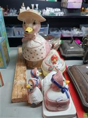 Sale 8582 - Lot 2473 - Collection of Ceramic Ducks