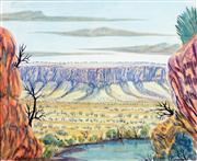 Sale 8743 - Lot 576 - Hilary Wirri (1959 - ) - Valley View 23 x 28cm