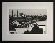 Sale 8734A - Lot 36 - Lynn Pearce - Rozelle Rooftops, 2015 47 x 61 (frame size)