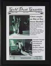 Sale 8822A - Lot 5083 - Gold Dust Gazette, April 1 2005 - Ghost caught on film at Hay Street Brothel! ; Vacuum Cleaner Salesman... 56.5 x 39.5cm