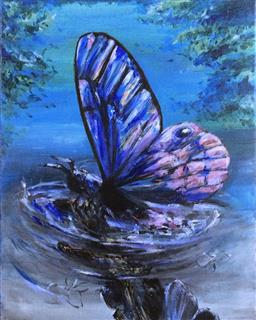 Sale 9118A - Lot 5075 - Kamaeri - Butterfly Effect 51 x 41 cm