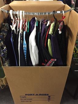 Sale 9139 - Lot 2096 - Large Box of Mixed Clothing incl Zenergy