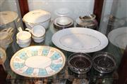Sale 8365 - Lot 98 - Royal Worcester Table Wares with Silver Plate & other Dinner Wares incl. Royal Doulton