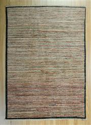Sale 8643C - Lot 95 - Afghan Chobi Stripe 150cm x 105cm