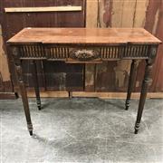 Sale 8699A - Lot 773 - Edwardian Mahogany Hall Table