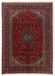 Sale 8770C - Lot 41 - A Persian Kashan From Isfahan Region 100% Wool Pile On Cotton Foundation, 380 x 270cm