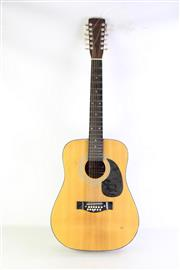 Sale 8957 - Lot 66 - Accoustic 12 String Guitar