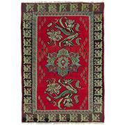 Sale 9061C - Lot 5 - Turkish Vintage Rose Kilim Carpet, 292x200 Cm, Handspun Wool