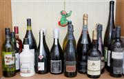 Sale 8346A - Lot 202 - A shelf lot of alcohol