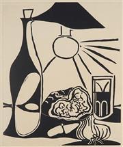 Sale 8821 - Lot 547 - Pablo Picasso (1881 - 1973) - Nature morte au Casse-croûte II 66 x 55cm