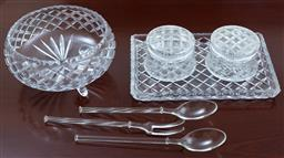 Sale 9155H - Lot 60 - A collection of glasswares including dishes and bowls