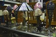 Sale 8368 - Lot 1086 - Set of 7 Table Lamps