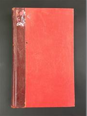 Sale 8539M - Lot 51 - The Imp Magazine, May 1938 (vol. 4 no. 1) to April 1939 (vol. 4 no. 12), bound in red cloth