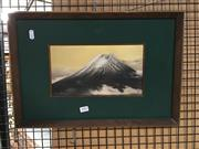 Sale 8752 - Lot 2082 - Artist Unknown - Mt Fuji, mixed media, SLR